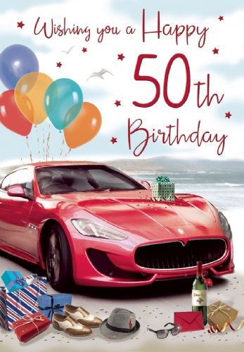 Wishing you A Happy 50th Birthday Cars C75